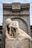 Cemetery in Barcelona Stock Images
