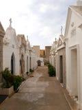 Cemetery of Bonifacio Royalty Free Stock Images