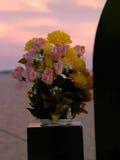 Cemetery bouquet Royalty Free Stock Photos