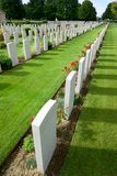 Cemetery. British Cemetery in Bayeux, Normandy, France Stock Image