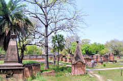 Cemetery at British Residency Stock Images