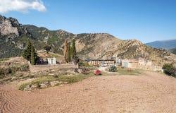 Cemetery of Castejon Stock Images