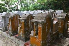 Cemetery. Cheung Chau Island. Hong Kong. Stock Image