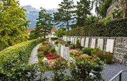 Cemetery in Chur, Switzerland Stock Photography