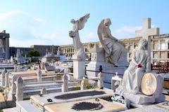Cemetery in Cienfuegos, Cuba Stock Image