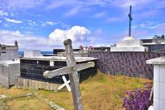 Cemetery, city Saquarema, Rio de janeiro, Brazil royalty free stock images
