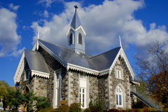 Cemetery cote des neiges church Stock Photography