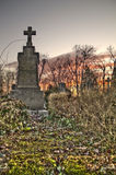 Cemetery in croatia Royalty Free Stock Photography