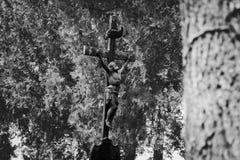 Cemetery cross Stock Photography