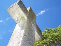 Cemetery Cross Sandgate royalty free stock photos