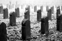 Cemetery crosses Stock Photo
