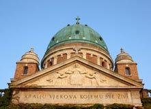 Cemetery Cupola Mirogoj Royalty Free Stock Images