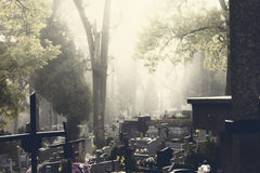 Cemetery Dark Royalty Free Stock Image