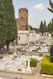 Cemetery delle Porte Sante in Florence Stock Image