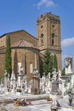 Cemetery delle Porte Sante in Florence Stock Images