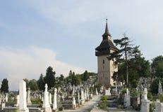 Cemetery in Deva Royalty Free Stock Photos