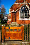 in cemetery  england europe Royalty Free Stock Images