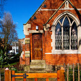 in cemetery  england     europe old construction and    history Royalty Free Stock Images