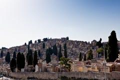 Cemetery Enna, Sicily, Italy royalty free stock photos