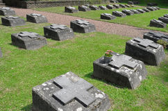 Cemetery of the fathers of the Society of African Missions (SMA). Stock Photo