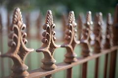 Cemetery Fence Royalty Free Stock Image