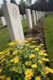 Cemetery flowers Stock Photo