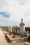 Cemetery in France Stock Photography