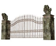 Cemetery Gate Stock Photo