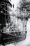 Cemetery gate Stock Images