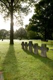 Cemetery. German Military Cemetery at La Cambe, Normandy, France Royalty Free Stock Photo