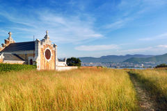 The cemetery of Getxo Stock Photos