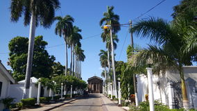 Cemetery in Granada. Central America's Oldest Cemetery in Granada, Nicaragua Stock Photo