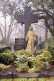 Cemetery grave stones, london Royalty Free Stock Photos