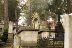 Cemetery graves Royalty Free Stock Photos