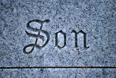 Cemetery gravesite. Royalty Free Stock Photography