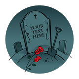 Cemetery Graveyard Royalty Free Stock Photography