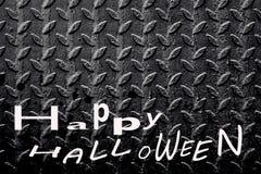 Cemetery happy Halloween background stock photo