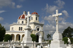 Cemetery at havana. An old  historical cemetery at havana, cuba Stock Images