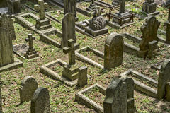 Cemetery in Hong Kong, China Stock Photography