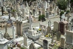 Cemetery in Hong Kong, China Royalty Free Stock Photos