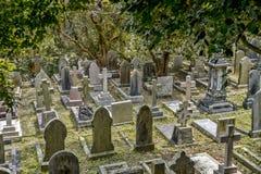 Cemetery in Hong Kong, China Stock Image