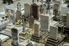 Cemetery in Hong Kong, China Stock Image