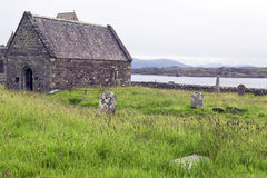 Cemetery Iona Stock Photography