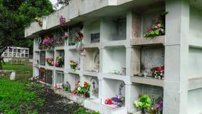 Cemetery on Isla San Christobal. Galapagos Archipelago, Ecuador, South America royalty free stock photography