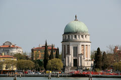 Cemetery island, Grand Canal, Venice, Italy Royalty Free Stock Photography