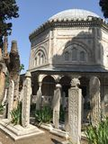 Cemetery Istanbul stock photography