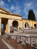 Cemetery, Italy Stock Images
