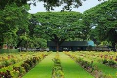 Cemetery in Kanchanaburi Thailand Royalty Free Stock Photo