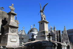 Cemetery La Recoleta Royalty Free Stock Photo