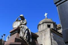 Cemetery La Recoleta Stock Images